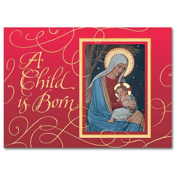 A Child is Born - Christmas Card box of 18
