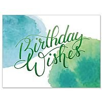 Birthday Wishes Celebrating You Birthday Card pack of 10