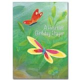A Heartfelt Birthday Prayer Birthday Card pack of 5