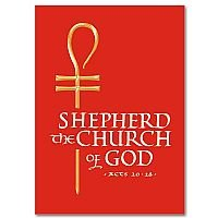 Shepherd the Church of God- Bishop Ordination Congratulation Card pack of 5