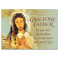 Gracious Father Easter Prayer - Easter Card pack of 5