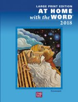 At Home with the Word 2018 Large Print