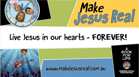 Jesus in our Hearts - MJR banner design 4 pack of 5 banners