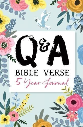 Q & A Bible Verse 5-Year Journal (flower edition)