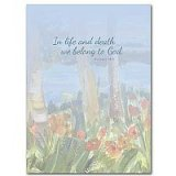 Although We Are So Very Sad - Celebration of Life Sympathy Card pack of 10