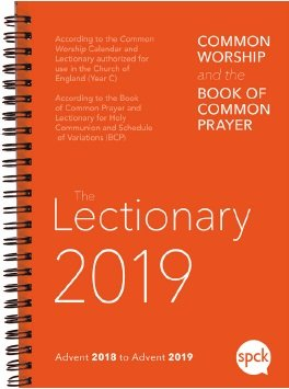 Common Worship Lectionary 2019 (spiral-bound)