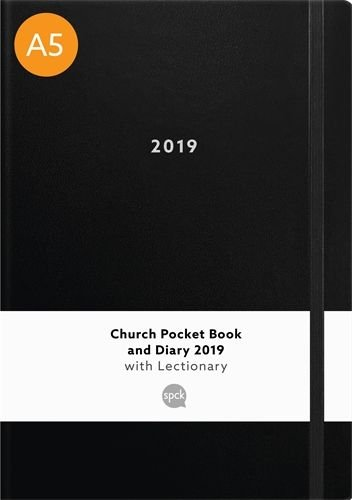 Church Pocket Book and Diary with Lectionary 2019 - A5 Black
