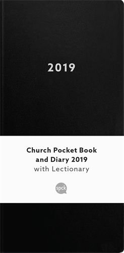 Church Pocket Book and Diary with Lectionary 2019 - black