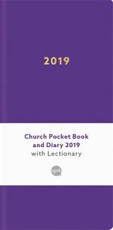 Church Pocket Book and Diary with Lectionary 2019 - purple