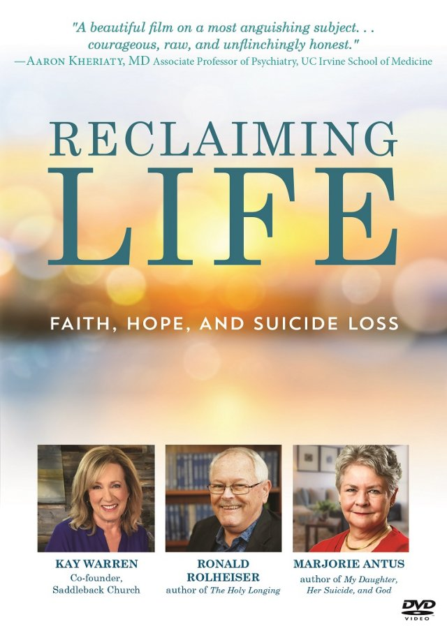 Reclaiming Life: Faith, Hope, and Suicide Loss DVD
