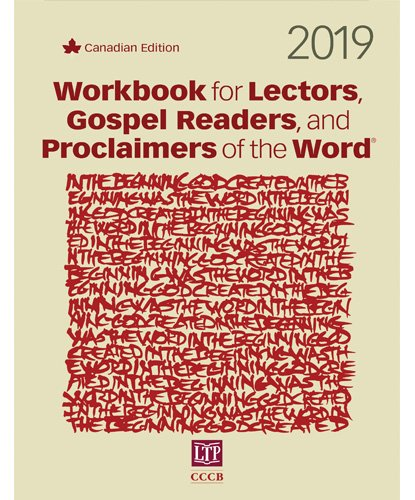 Workbook for Lectors, Gospel Readers, and Proclaimers of the Word 2019 NRSV Canadian edition
