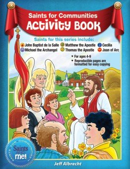 Saints for Communities Activity Book - Saints and Me! Series