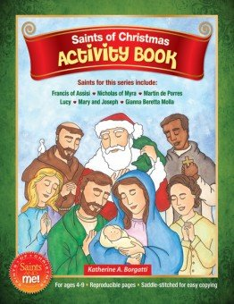 Saints of Christmas Activity book - Saints and Me! Series